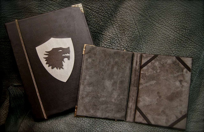 House Stark Game of Thrones eReader / iPad Cover