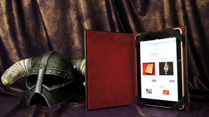Oghma Infinium Skyrim iPad Cover