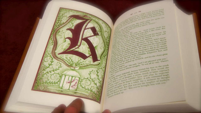 Leatherbound Neverending Story Book Replica