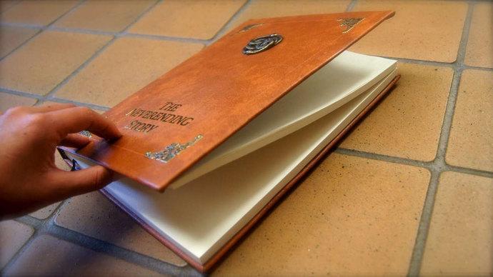 Neverending Story Sketchbook / Diary