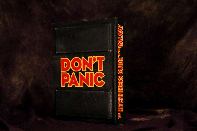 Hitchhiker's Guide to the Galaxy eReader / iPad Cover