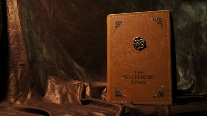 Neverending Story Laptop Case
