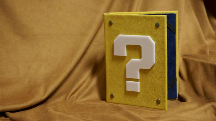 Question Block eReader / iPad Cover