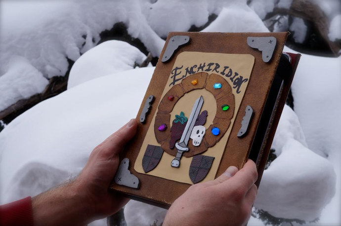 Adventure Time Enchiridion iPad / Tablet & eReader Cover