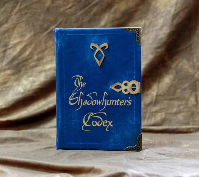 Custom Tablet or eReader Cover - Shadowhunter's Codex The Mortal Instruments