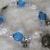 Blue Butterfly Bracelet, boho jewelry bohemian jewelry victorian jewelry gypsy