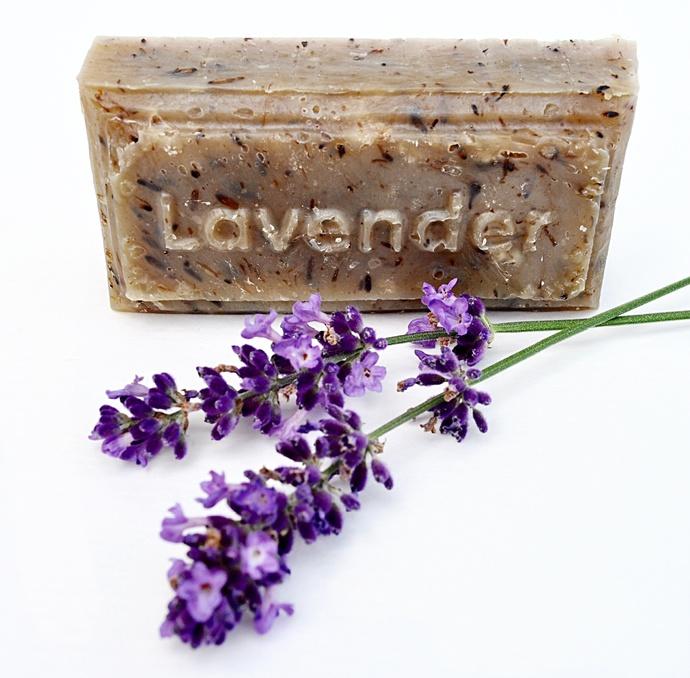 Lavender Goat milk french milled soap rectangle 4.0 oz,homemade,handmade,all