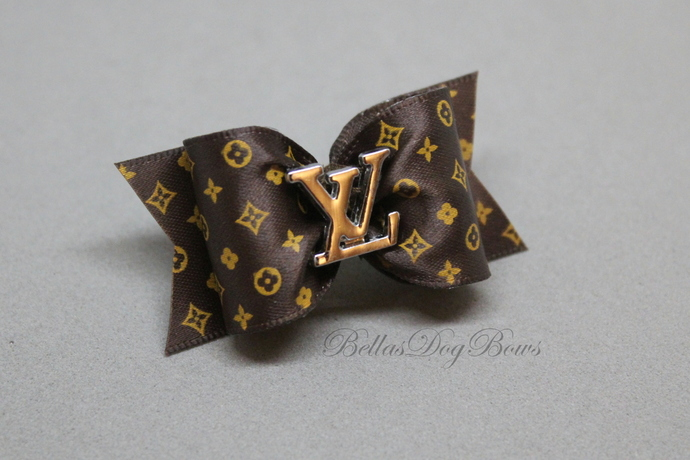 Dog Bow (Brown)