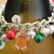 Christmas charm bracelet - 7 inches