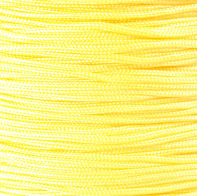 1mm yellow nylon cord - nylon thread - chineese Knotting Cord - Macrame thread -