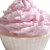 Pomegranate Vanilla Cupcake Soap