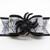 Black Sparkle Spider Halloween Dog Bow