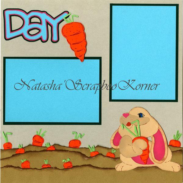 """24 Carrot Day 12""""x 24"""" page layout"""