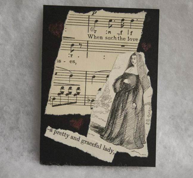 A Graceful Lady collage ACEO