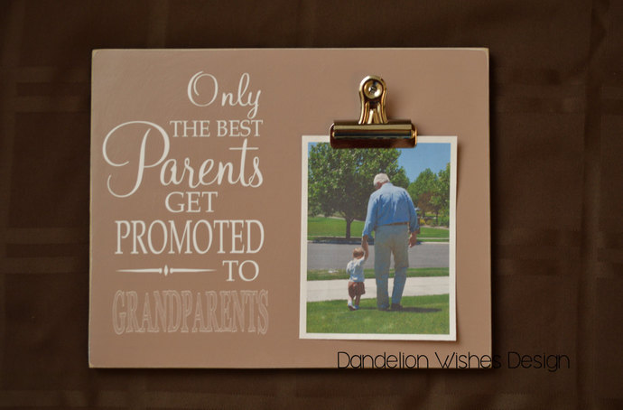 Light Brown 8x10 Photo Clip Board; by Dandelion Wishes Design on