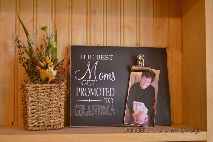 The Best Moms Get Promoted To Dandelion Wishes Design
