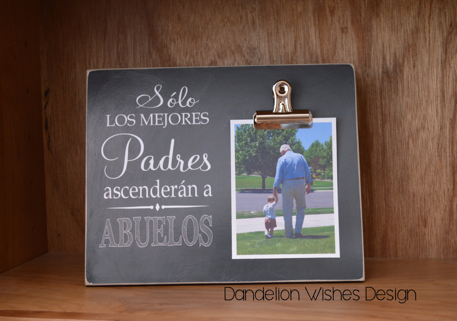 Wonderful Solo Los Mejores Padres Ascenderan by Dandelion Wishes Design on CF99
