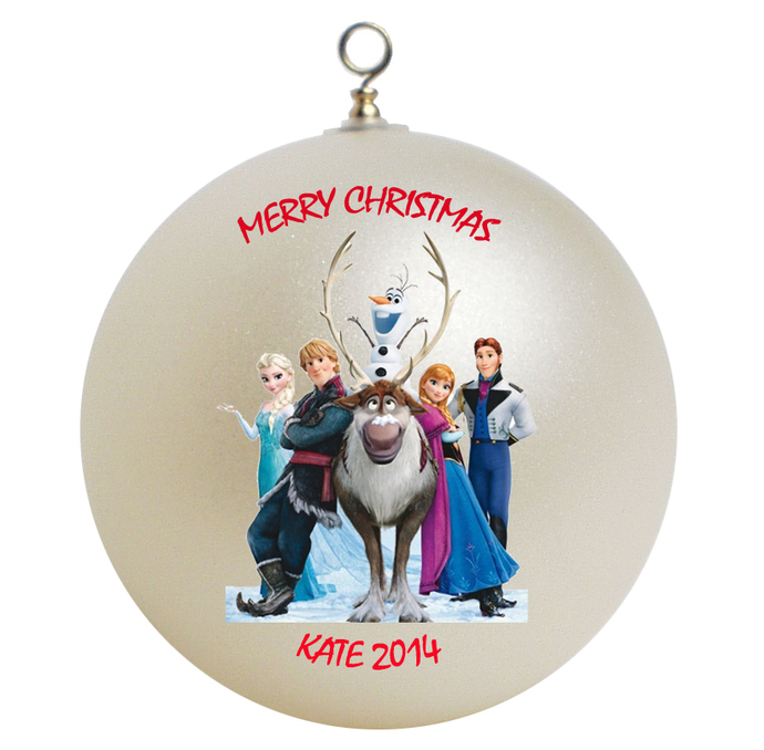 Disney Frozen Personalized Christmas Ornament