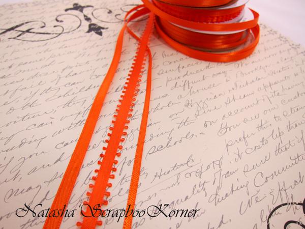 3pcs Ribbon Set - Orange
