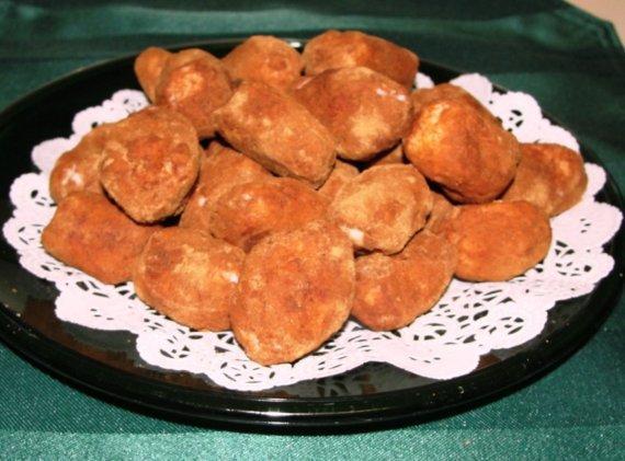 Irish Potato Candy Recipe Card