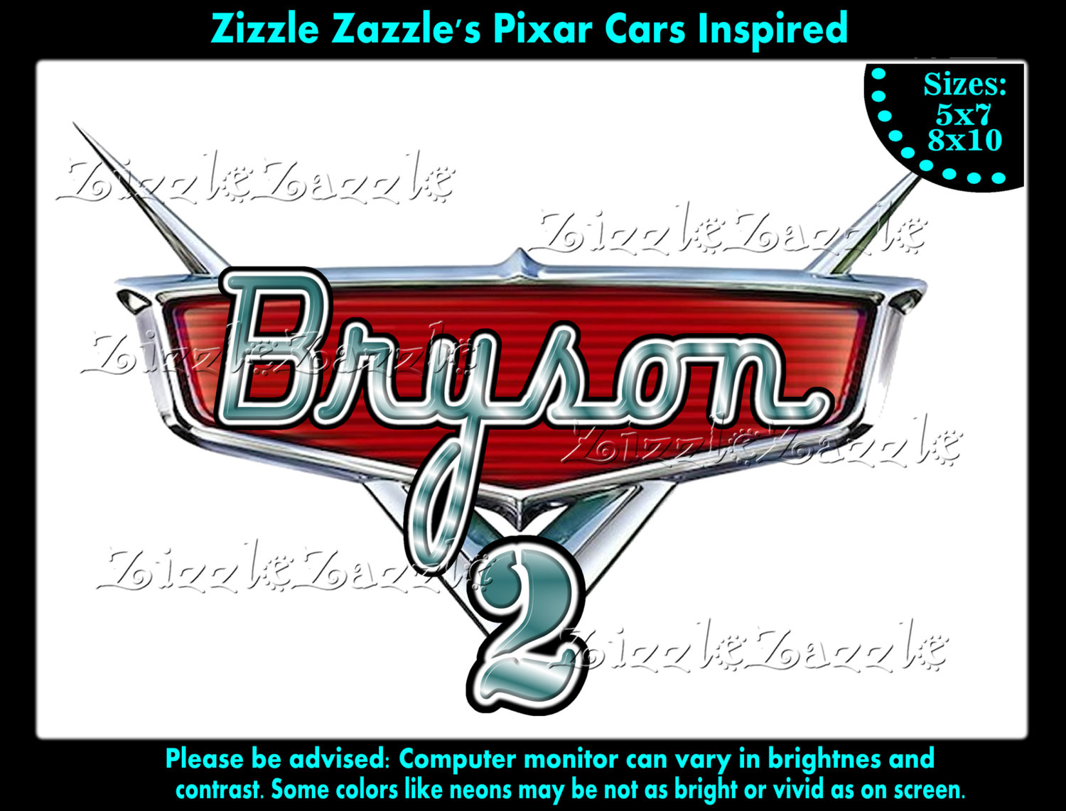 Cars Lightning Mcqueen Birthday Party T By Zizzle Zazzle On Zibbet