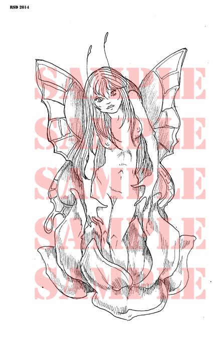 Metomorphisis fairy Digi stamp new for 2015