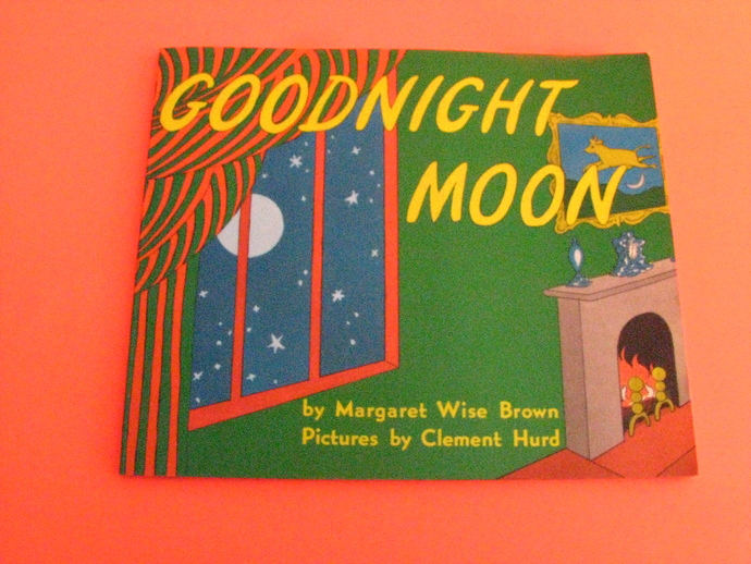 Vintage Childrens Book- Goodnight Moon- by Margaret Wise Brown- Pictures by