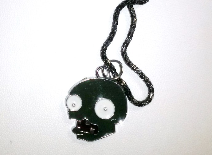 Zombie Pendant on Chain