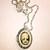 Small Gothic Lolita Cameo in Silver Locket