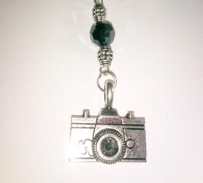 I Am A Camera Charm Bracelet