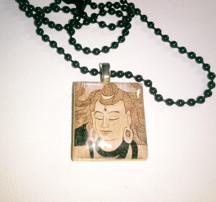 Zen Scrabble Tile Pendant