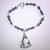 Gothic Lolita Blue Crystal Bracelet