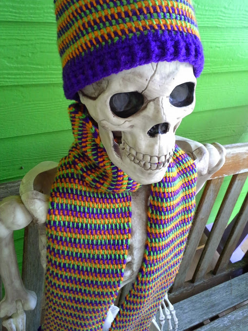 Squares & Stripes Hat & Scarf - Customize it!