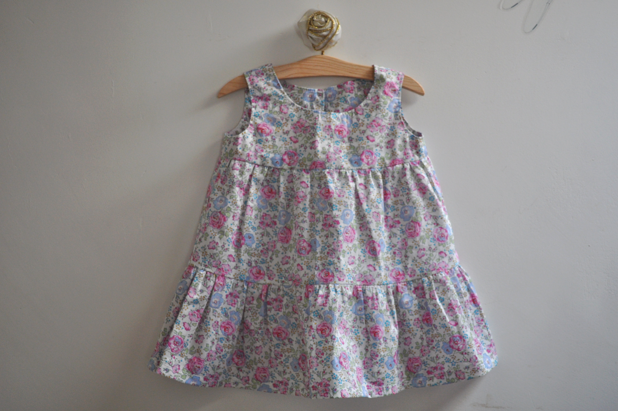 Baby Girl Dress with Bloomers Liberty Tana Lawn by Tialys on Zibbet