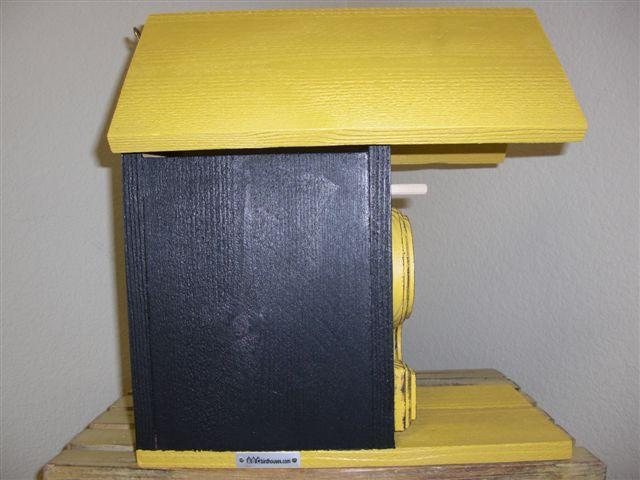 Birdhouse - Pittsburgh Steelers by ABCbirdhouses
