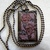 "SOLD SOLD SOLD ""Bed of Roses"" Mosaic Rectangle Pendant with Rose Design &"