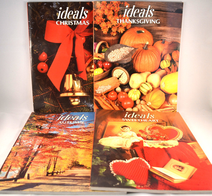 Vintage Ideals Magazine Lot 1986, 1994 Christmas, Valentine Sweetheart,