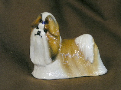 Hevener Collectible Shih Tzu Dog Figurine