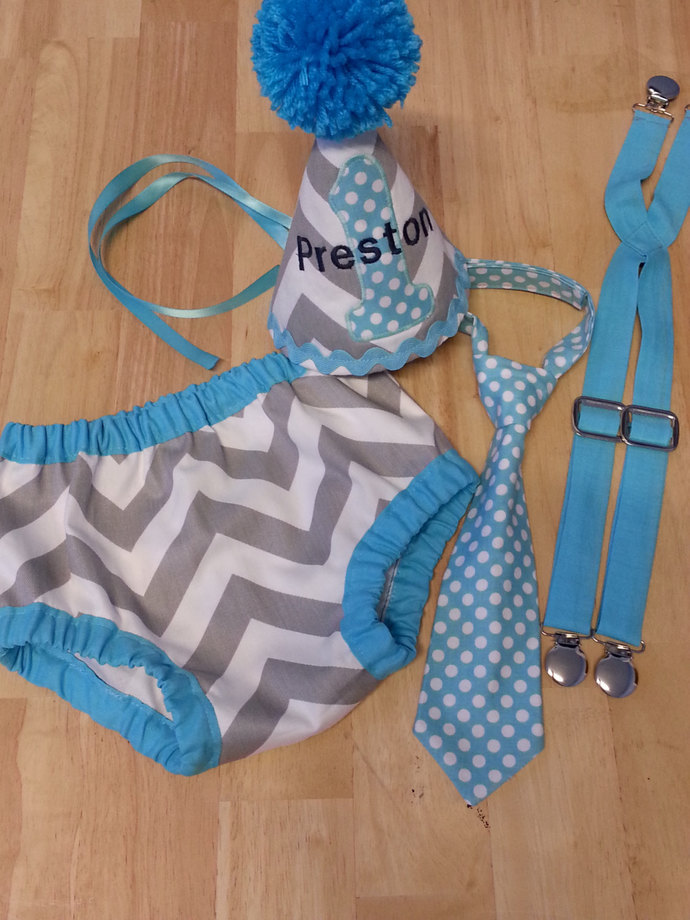 Personalized Baby Boy Smash The By Sew Many Possibilities On Zibbet