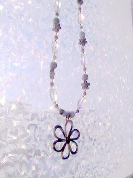 Winter Flower Necklace