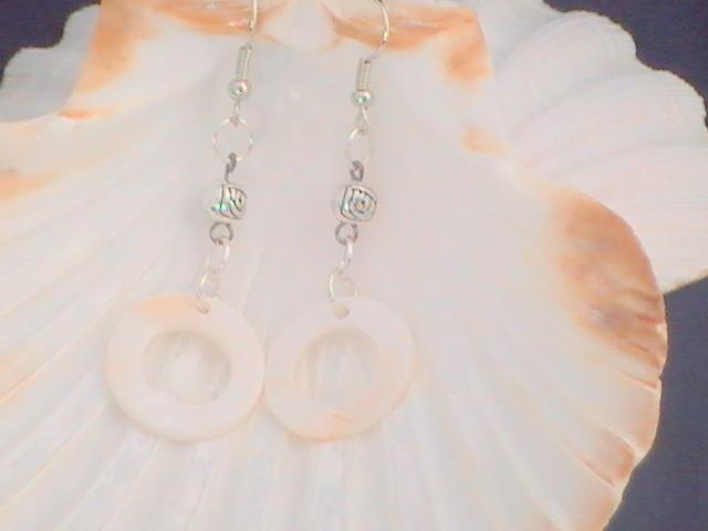 Circular Shell earrings