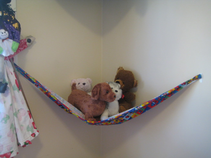 Robots Teddy Bed (Toy Hammock)- Size Medium