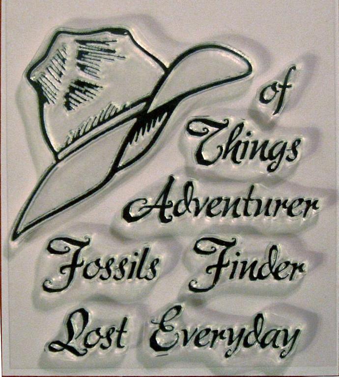 Adventure Series: Adventurer's Fedora clear stamps