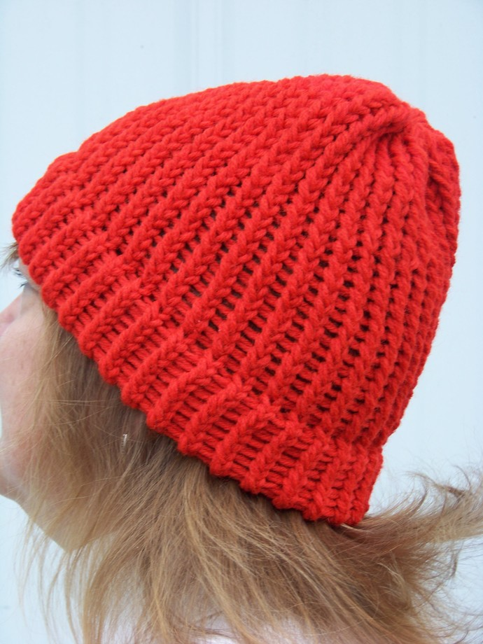 Red Knit Hat# 30