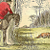 Mr Jorrock's Fox Hunt 1890 Victorian John Leech Antique Hand-Colored Aquatint
