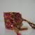 40 Strand Beaded Diamond X-Pattern Micro Macrame Friendship Bracelet In Pinks,
