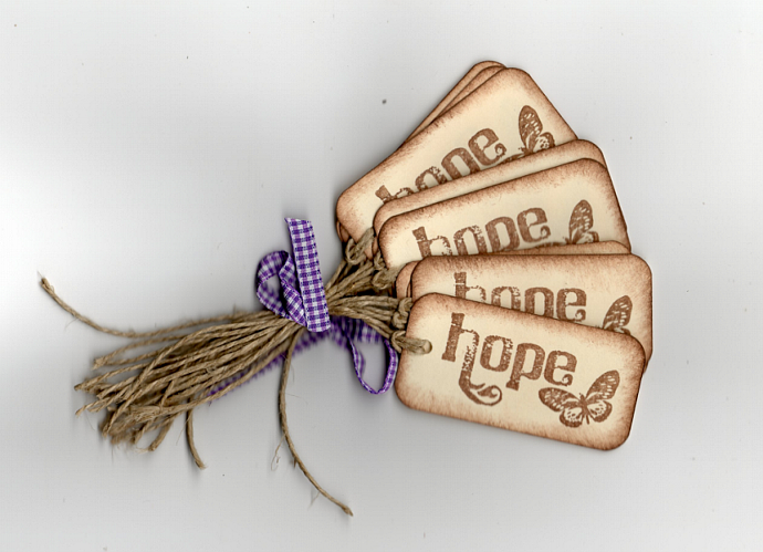Hope Hang/Gift Tags - Primitive All Occasion