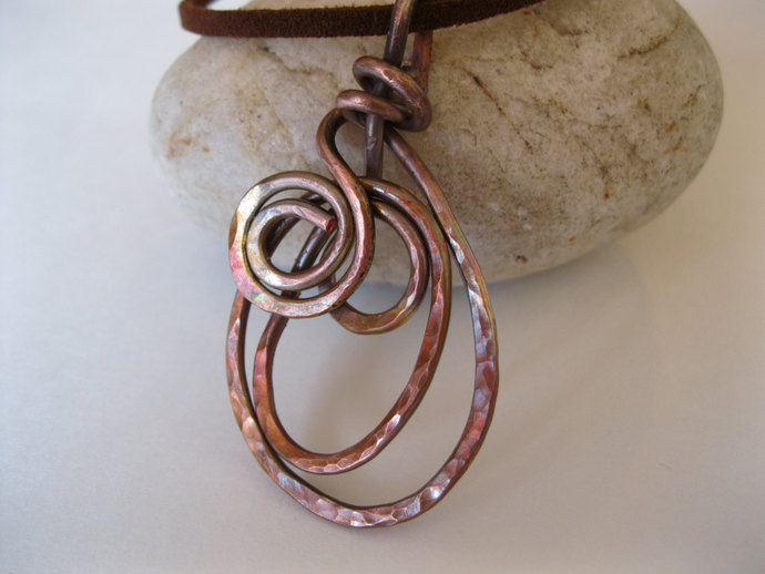 Handmade Copper Spiral By Lord And Poppy Copper Jewelry On Zibbet