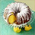 Lemon Bundt Cake Vanilla Frosting 6pk