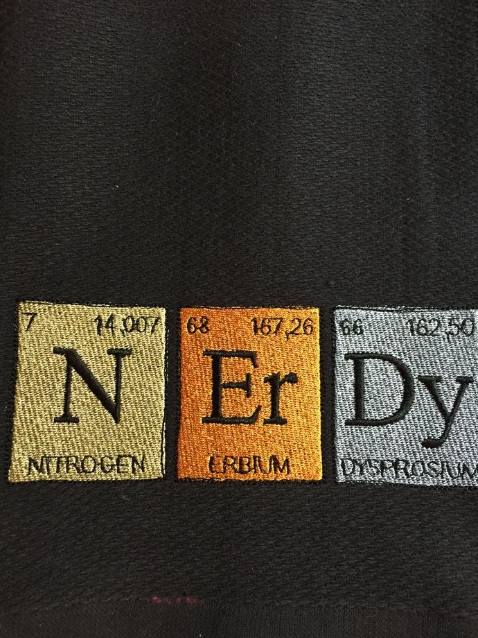 NErDy kitchen towel